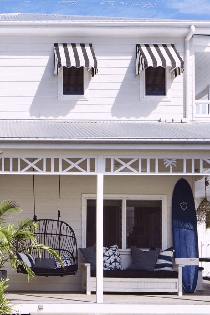 ATLANTIC SUMMER FRONT PORCH DECOR IDEAS WITH SWING