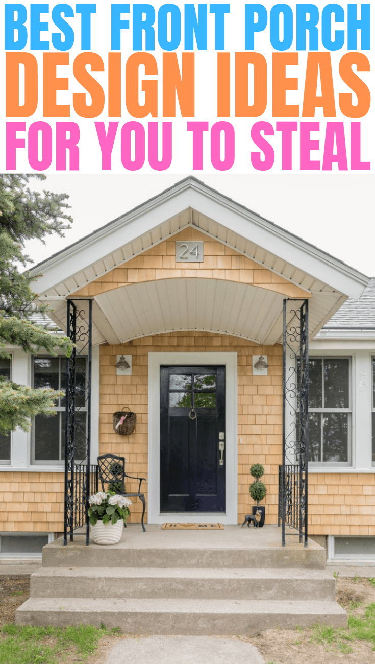 BEST FRONT PORCH DESIGN IDEAS FOR YOU TO STEAL