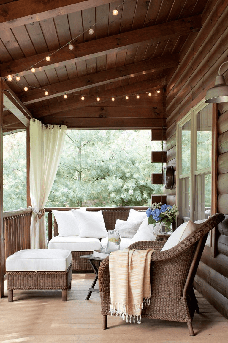 CLASSIC BACKYARD PORCH DESIGN IDEAS