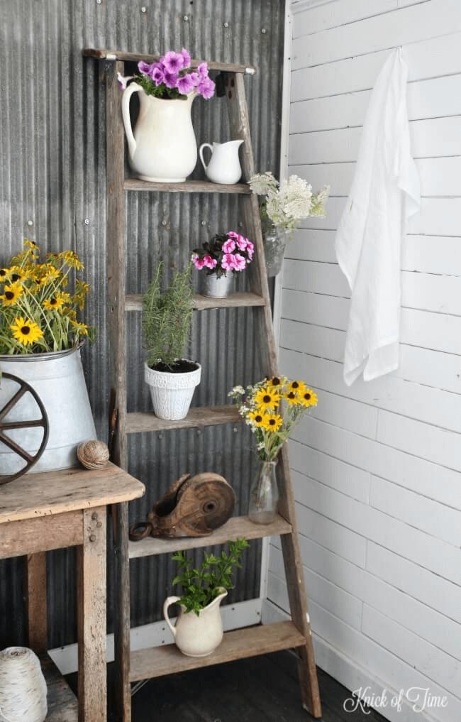 Simple Rustic Front Porch Décor Ideas