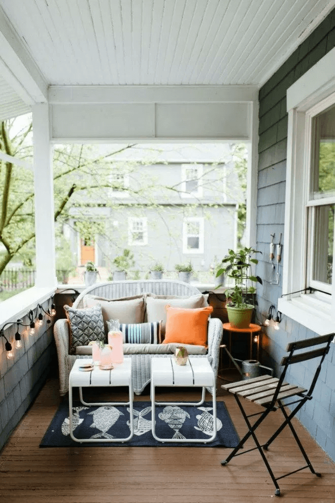 FRONT PORCH FURNITURE IDEAS ON A BUDGET
