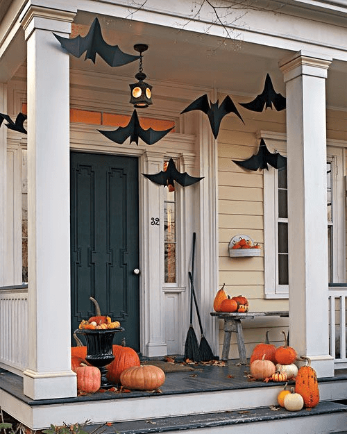 HOW TO DECORATE FRONT PORCH FOR SUMMER OR FALL