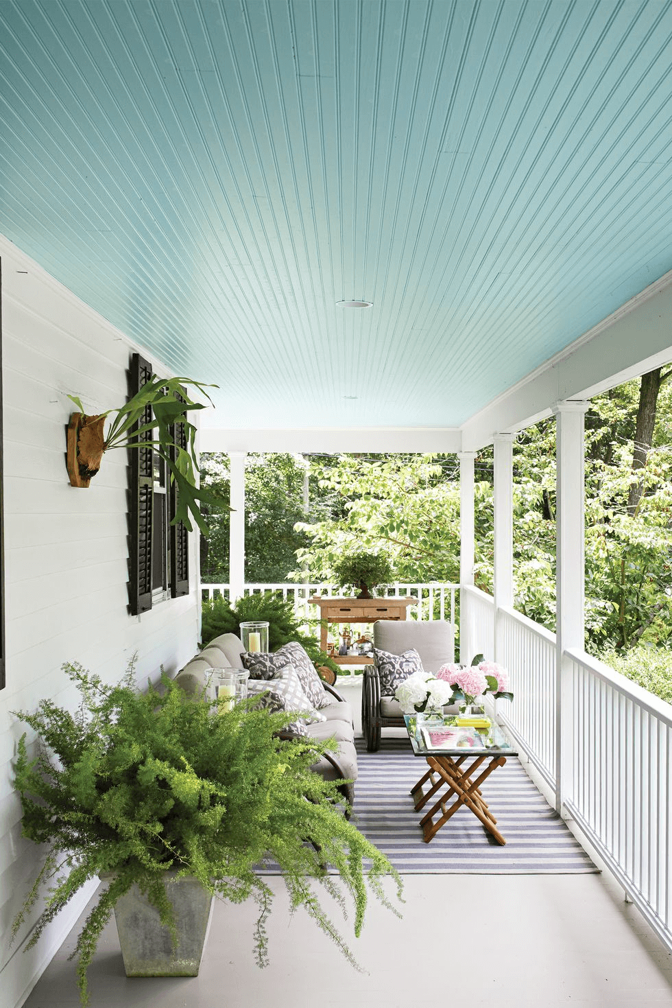 MODERN MINIMALIST BACKYARD PORCH DESIGN IDEAS