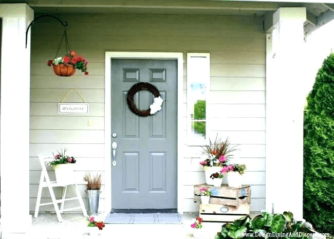 SIMPLE IDEAS SMALL FRONT PORCH DECORATING ON A BUDGET