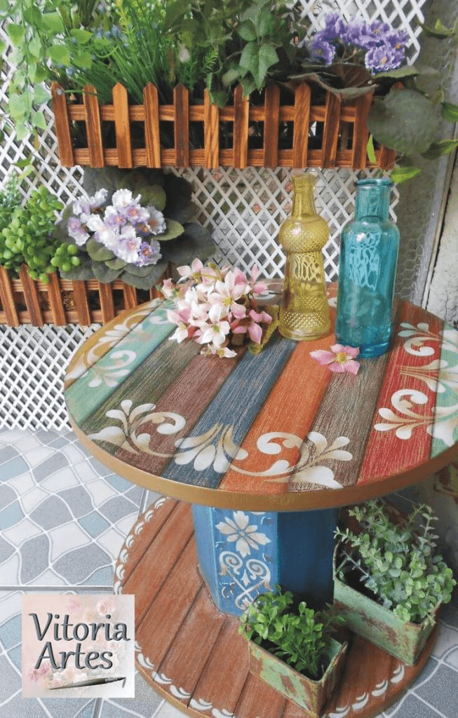 SUMMER FRONT PORCH DECORATING IDEAS WITH REPURPOSE OLD OR UNUSED THINGS