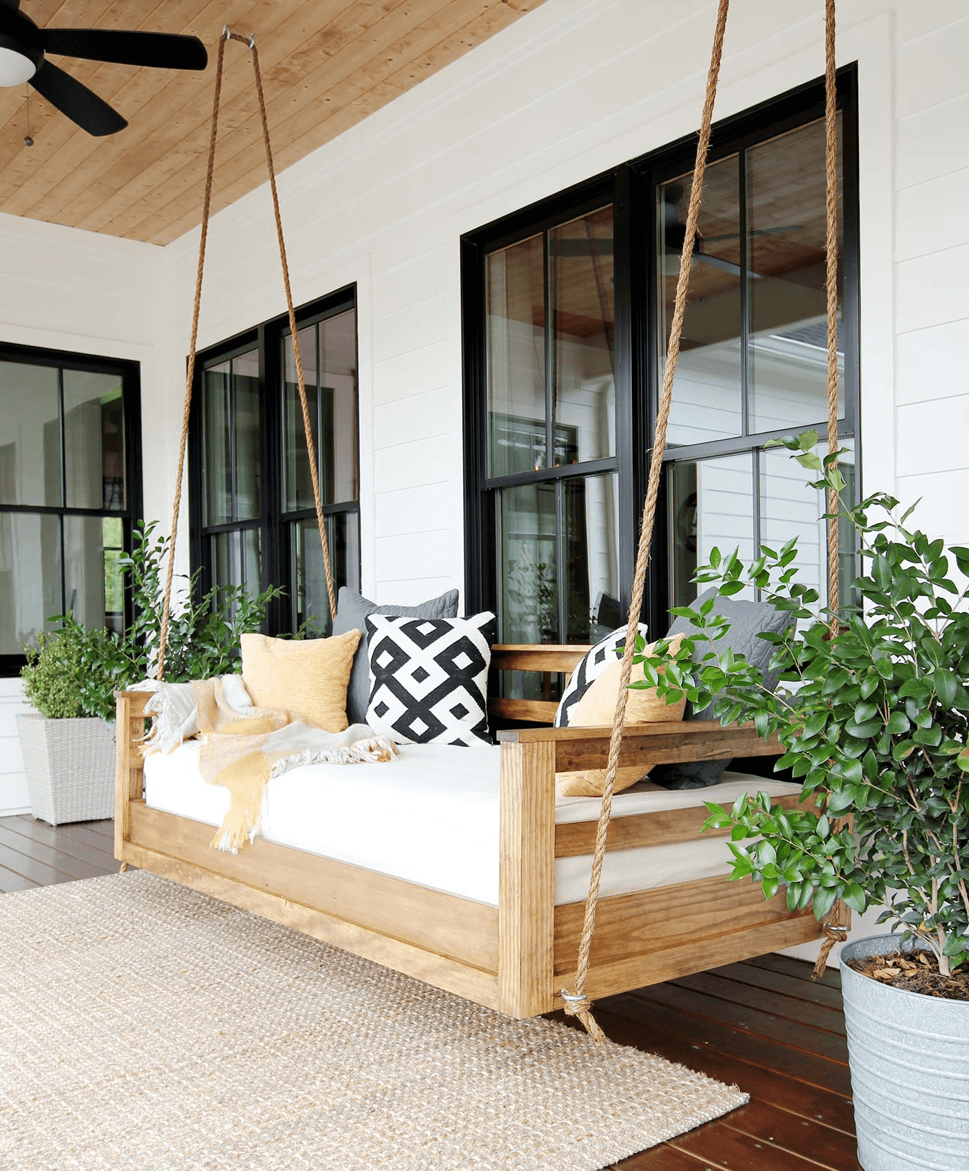 SWING PORCH FURNITURE IDEAS