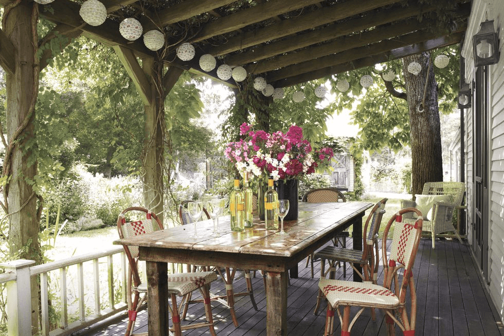 VINTAGE BACKYARD PORCH DESIGN IDEAS