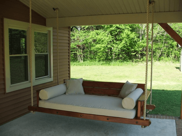 BEST DAY BED PORCH SWING DESIGN IDEAS