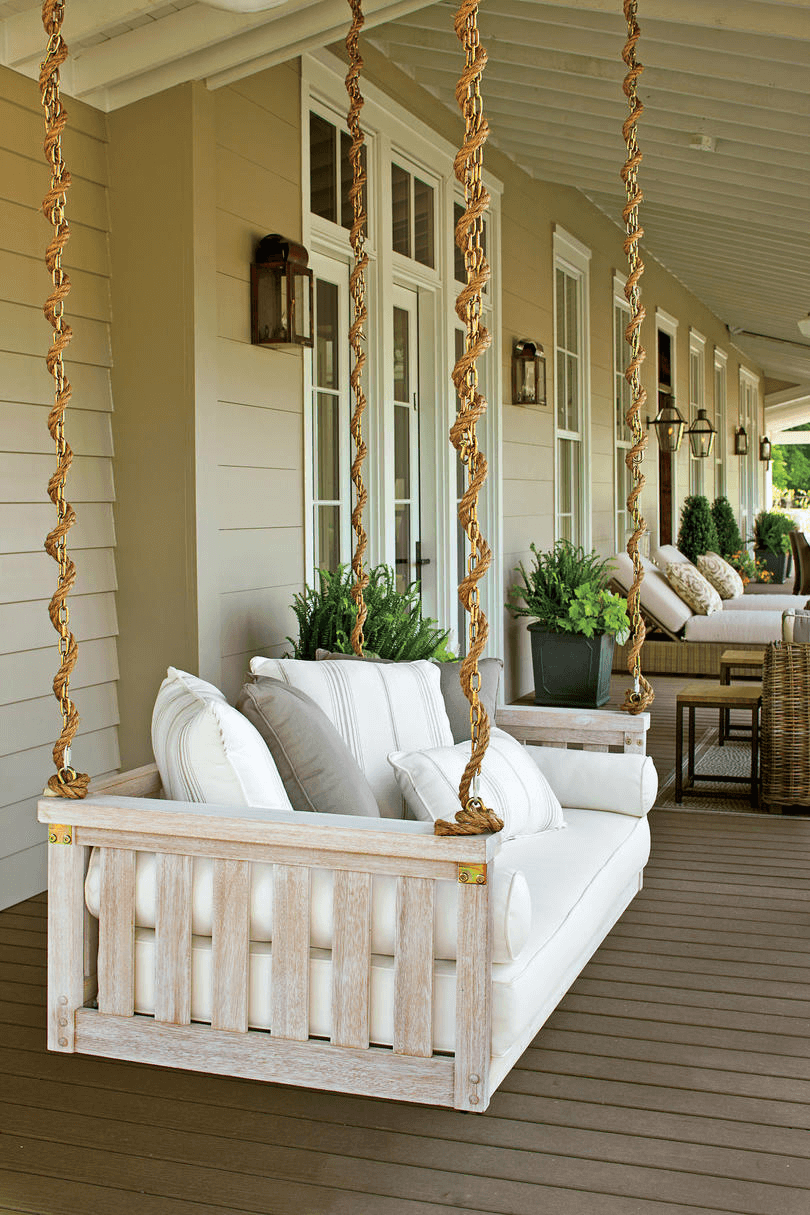 MOST POPULAR OLD FRONT PORCH SWING DECOR IDEAS