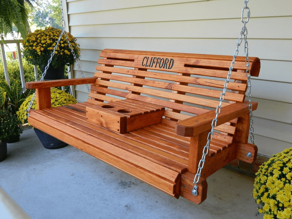 REMODELING PORCH SWING DECOR IDEAS