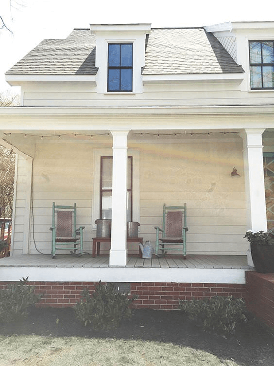 BEFORE PORCH MAKEOVER IDEAS DRY TO WELL HYDRATED