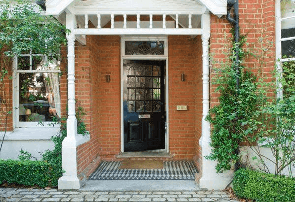 BRICK AND CERAMIC SMALL PORCH DESIGN IDEAS