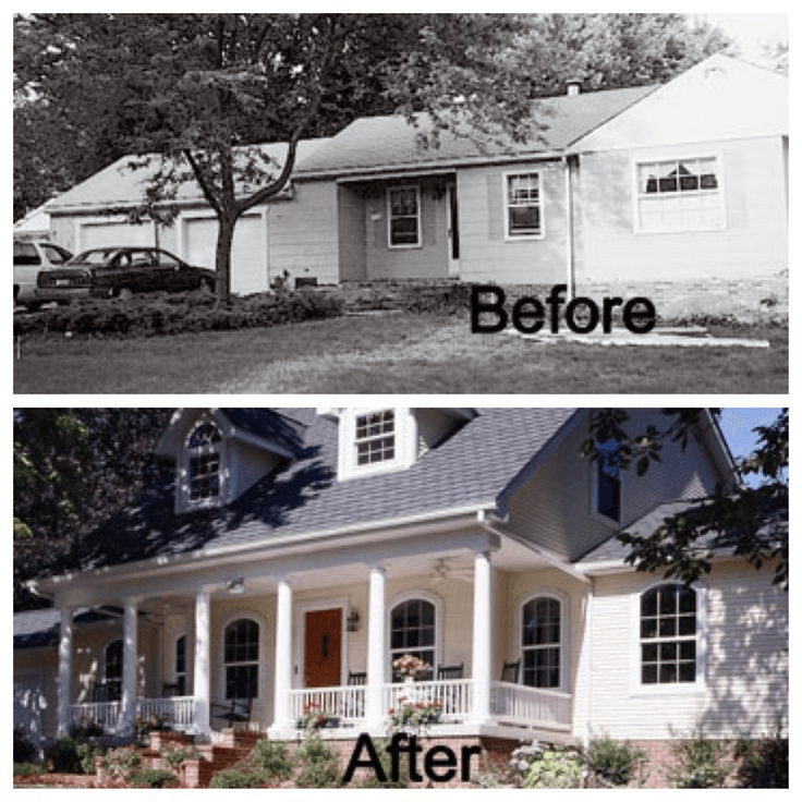 CLASSIC TO MODERN CHARM PORCH MAKEOVER IDEAS