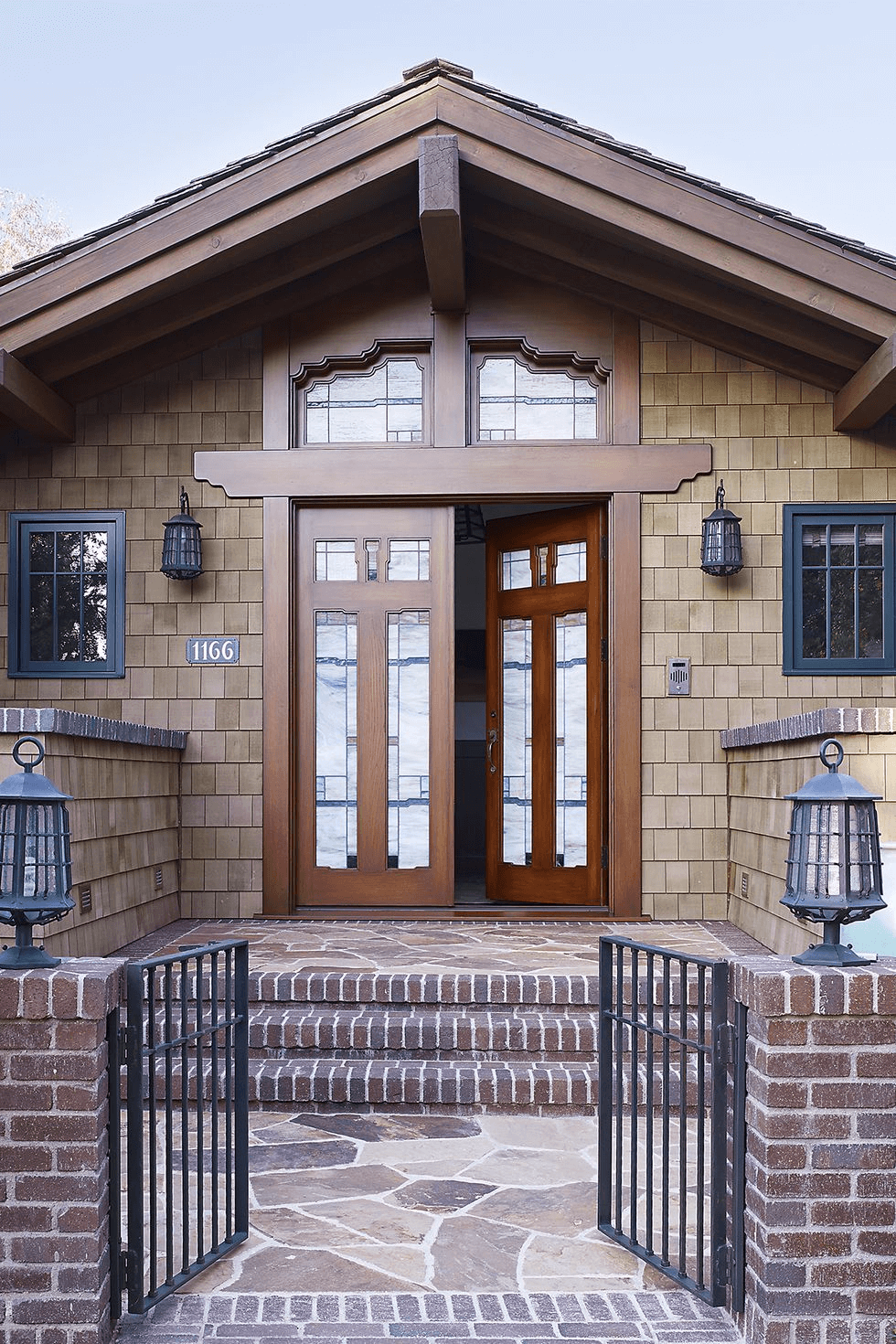 CUSTOM SHAPE IDEAS WITH OLD STYLE LANTERN WITH A LOT OF GRIDS FOR PORCH LIGHTING