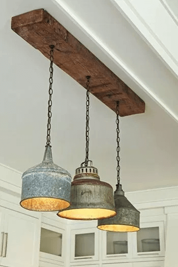 DIY OLD TIN PORCH LIGHTING DESIGN IDEAS