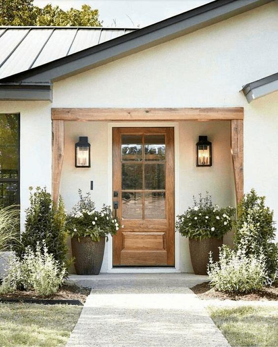 DOOR IN FRAME PORCH DESIGN IDEAS