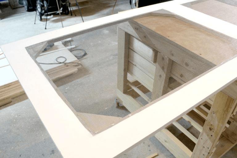 EASY WAY HOW TO BUILD WOODEN SCREEN DOOR FOR PORCH