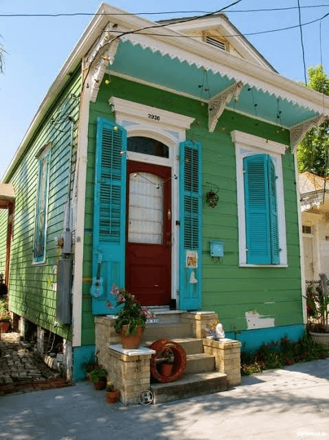 FAKE DOOR PORCH TINY HOUSE DESIGN IDEAS
