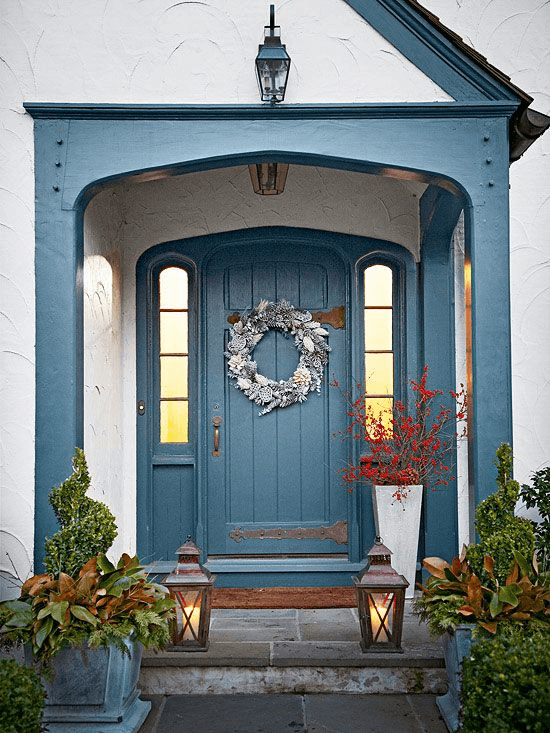 FROZEN DOOR SMALL PORCH DESIGN IDEAS