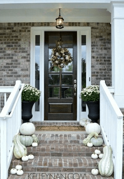 HOMEY AISLEY DOOR PORCH DESIGN IDEAS