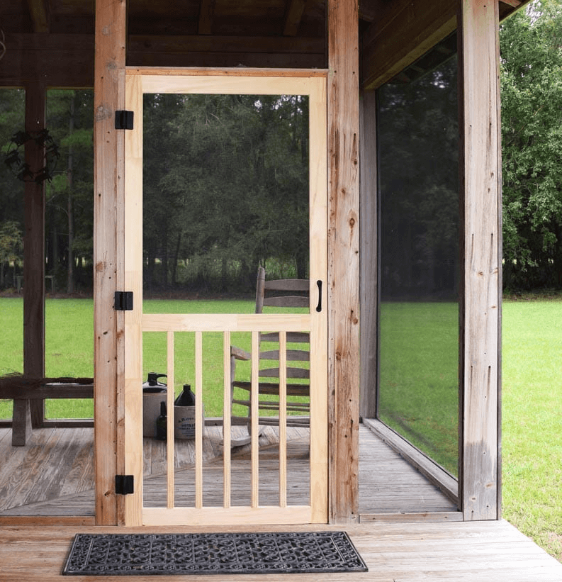 HOW TO BUILD WOODEN SCREEN DOOR STEP BY STEP