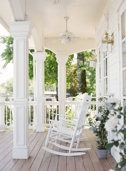 WHITE WASH DESIGN IDEAS FOR COVERED PORCH