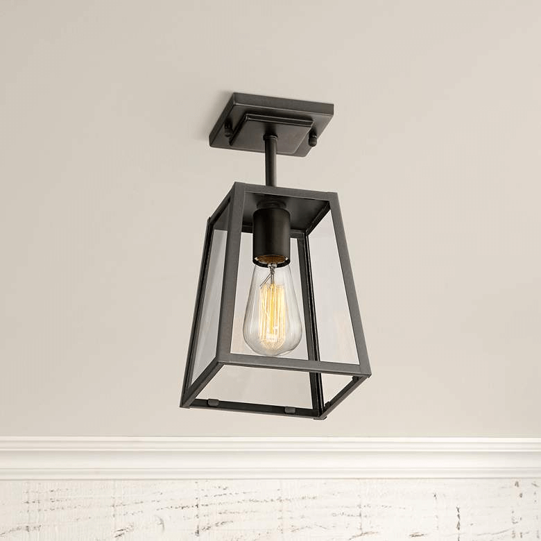 ARRINGTON MYSTIC BLACK PORCH CEILING LIGHT FIXTURES IDEAS