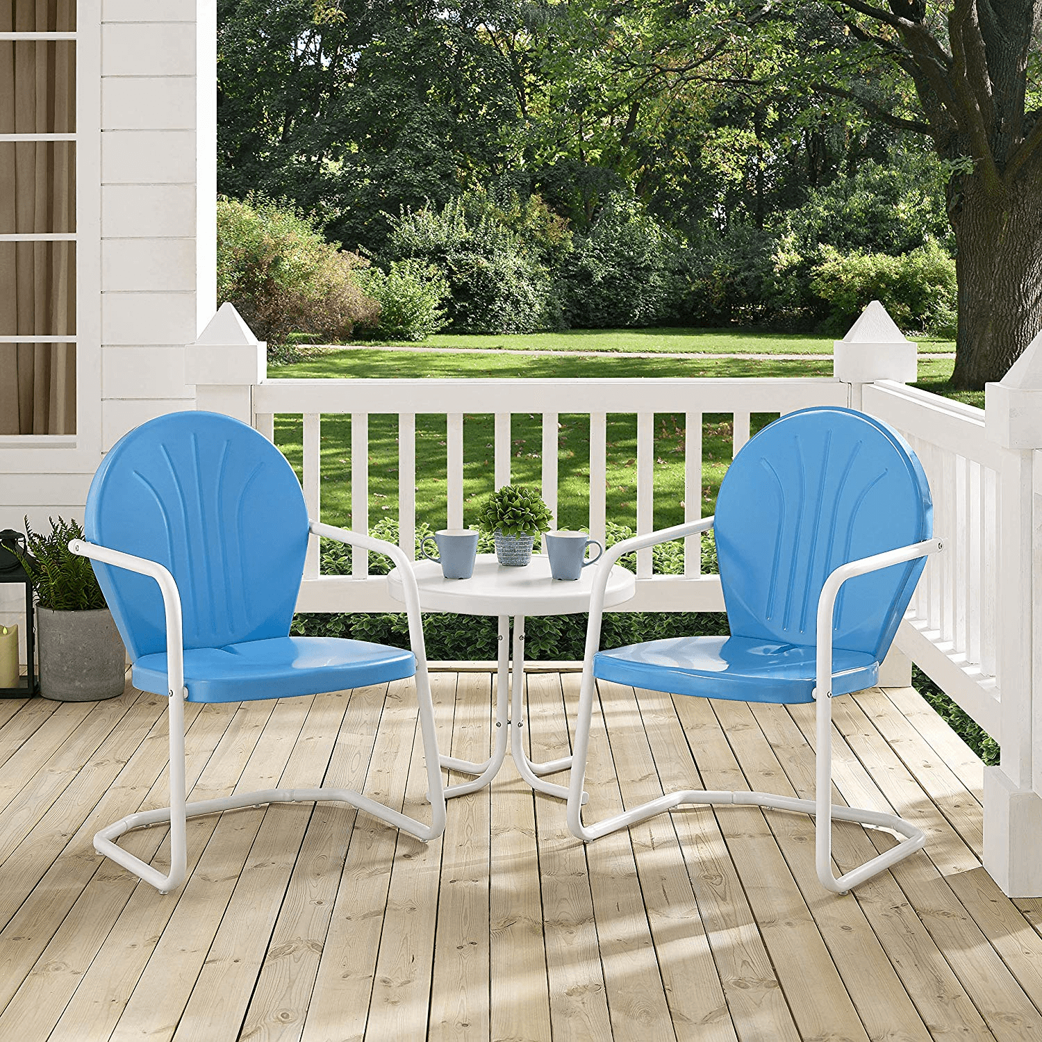 CROSLEY FURNITURE GRIFFITH BEST METAL PORCH PATIO FURNITURE SETS