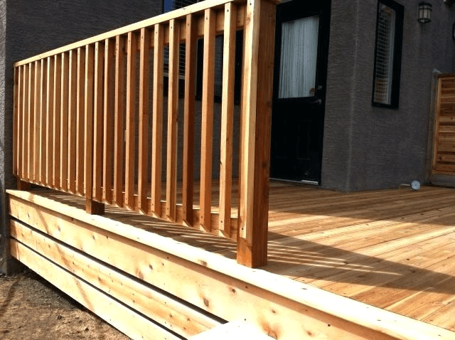 HARDWOOD PORCH RAILING DESIGN IDEAS