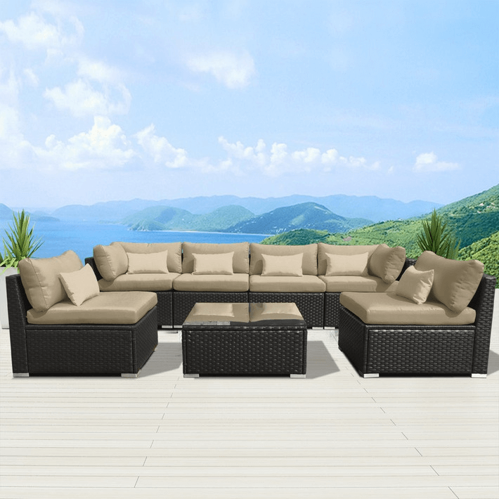 INTERESTING DECORATION WITH BEST PATIO FURNITURE SETS MODENZI 7G-U