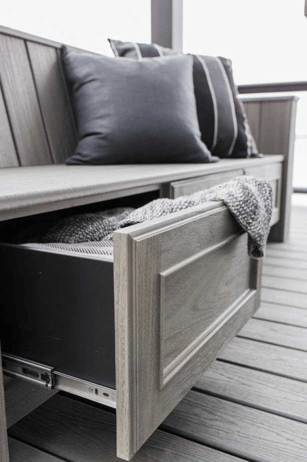 MOST POPULAR IDEAS PORCH BENCH WITH DRAWER