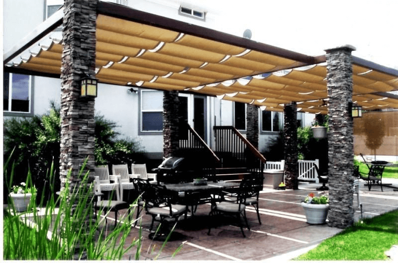 MOST POPULAR PORCH CANOPY DESIGN IDEAS
