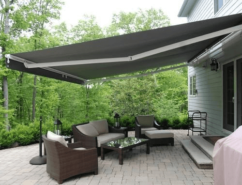 RETRACTABLE AWNING PORCH CANOPY DESIGN IDEAS