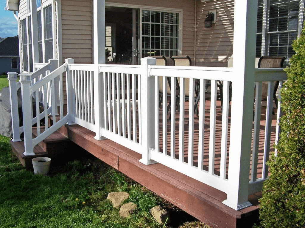 WOOD PORCH RAILING DESIGNS