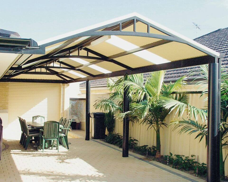 NICE IDEAS ALUMINUM PATIO TYPES
