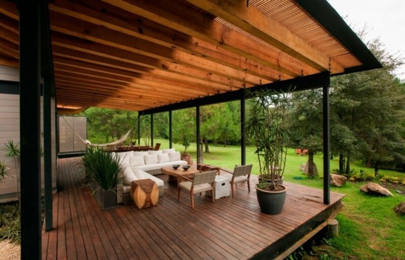 WOOD PATIO COVER KITS IDEAS