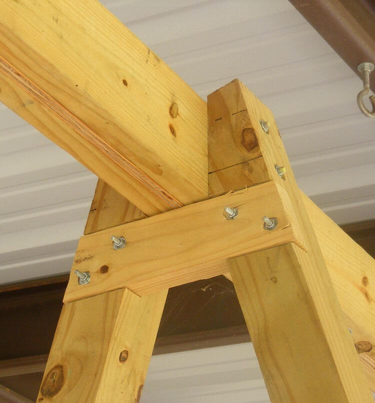 LEARN THE INSTALLATION OF PORCH SWING WITH STAND