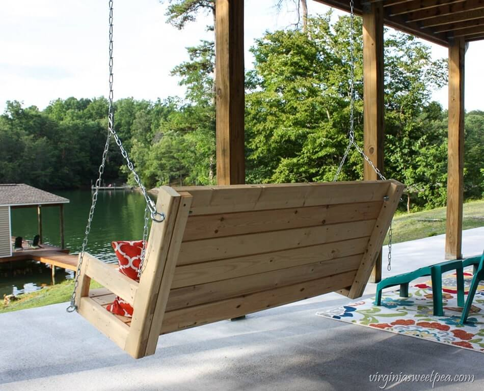 HOW TO BUILD PORCH SWING STEP BY STEP