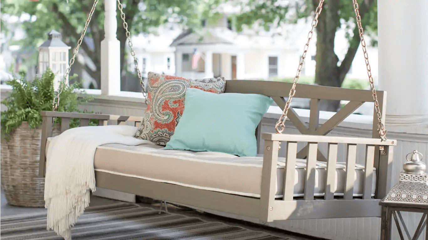 HOW TO MAKE PORCH SWING HANGING