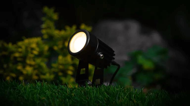 Atlas Solar Spotlight PORCH LIGHT