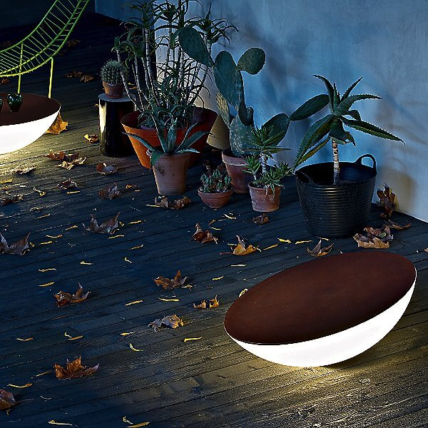 BOWL SHAPED FLOOR LAMP OUTDOOR PORCH LIGHT IDEAS
