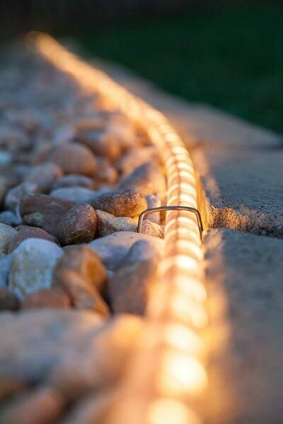 EASY WALKWAY OUTDOOR PORCH ROPE LIGHT