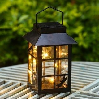 LANTERN SOLAR PORCH LIGHT IDEAS