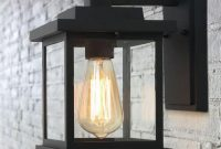 SQUARE SCONCE SOLAR PORCH LIGHTS