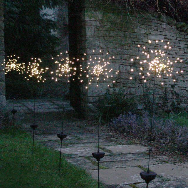 STARBURST SOLAR PORCH LIGHT