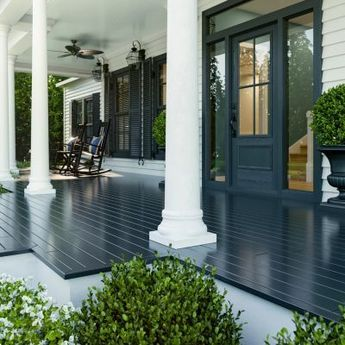 NAVY FLOOR PAINT COLOR FOR PORCH