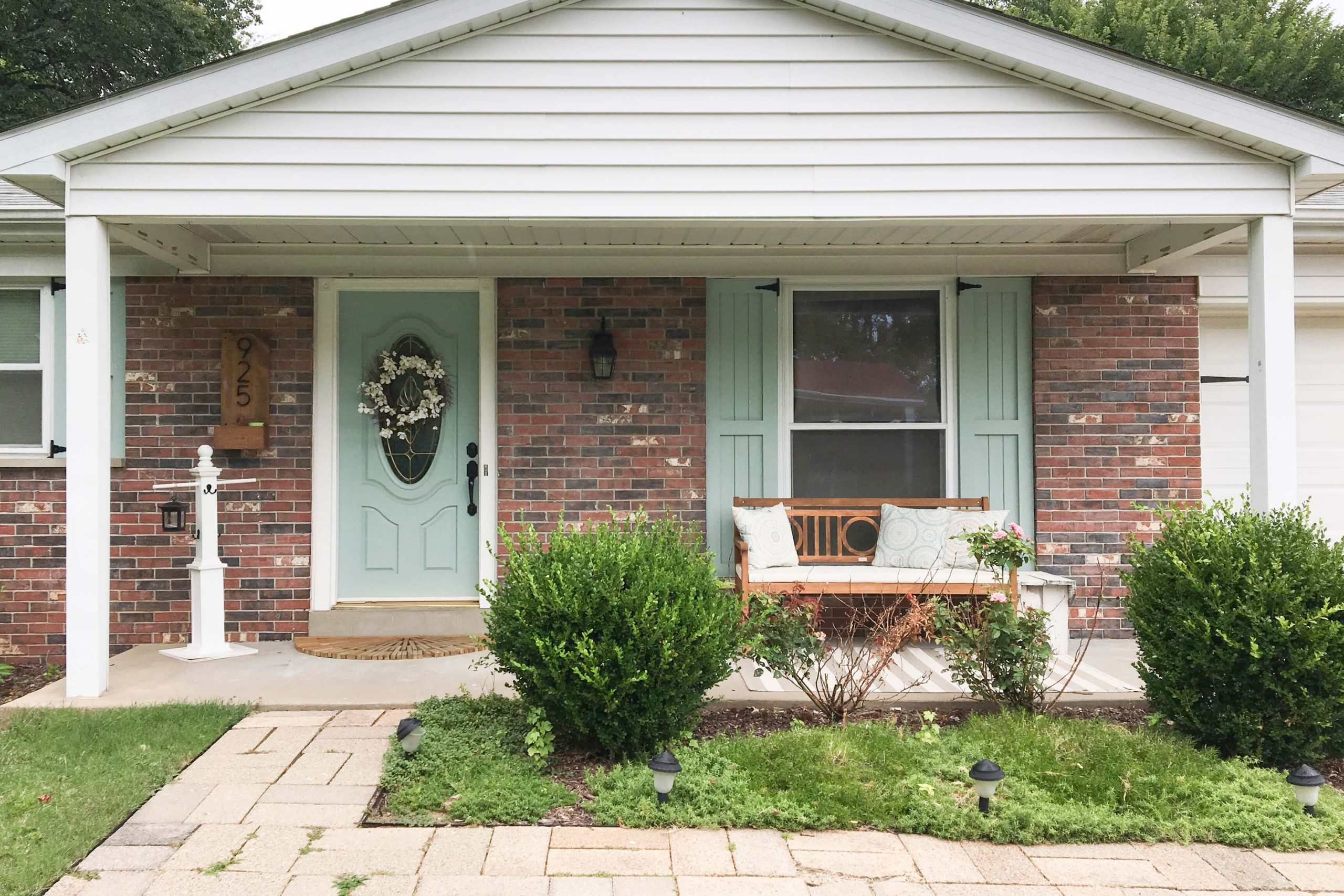 CHANGE THE SHADE FOR PORCH COLUMN MAKEOVER IDEAS BEFORE