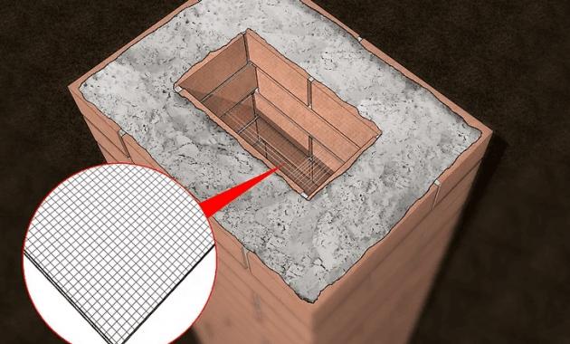 FINAL COURSE HOT TO BUILD PORCH COLUMN BRICK