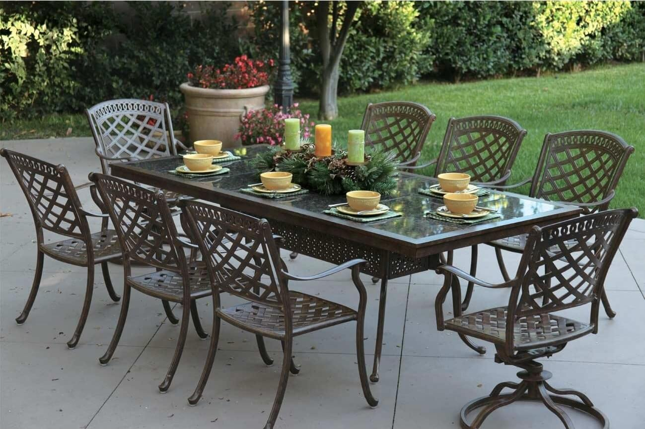 AWESOME CAST ALUMINUM PATIO FURNITURE PROS AND CONS