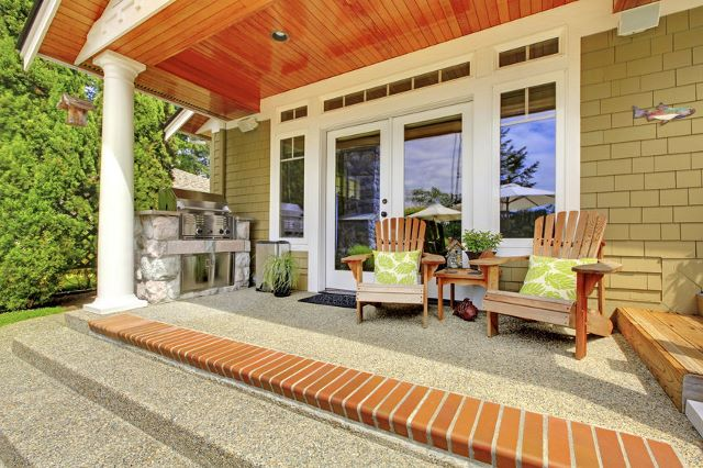 CLASSIC TOUCH TO FRONT PORCH ADDITION IDEAS